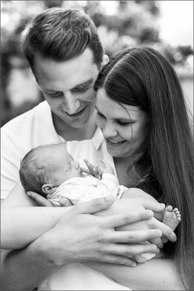 Neugeboren Fotoshooting