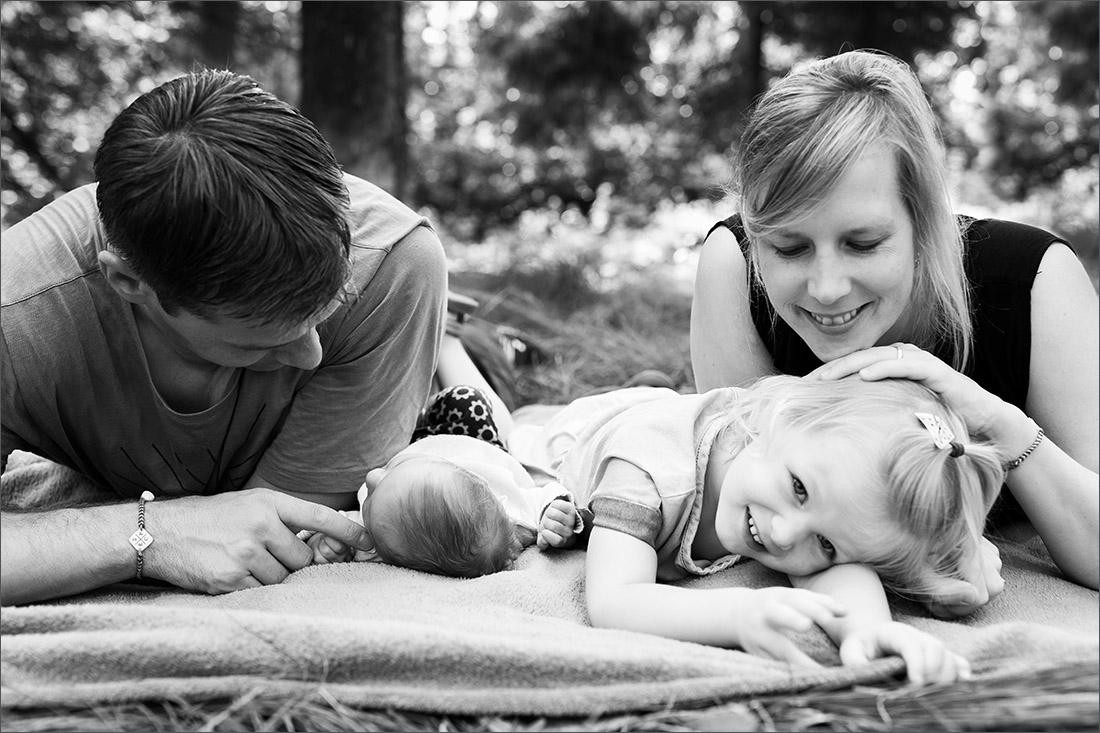 Natürliches Familien Fotoshootings im Wald Karsau - Rheinfleden