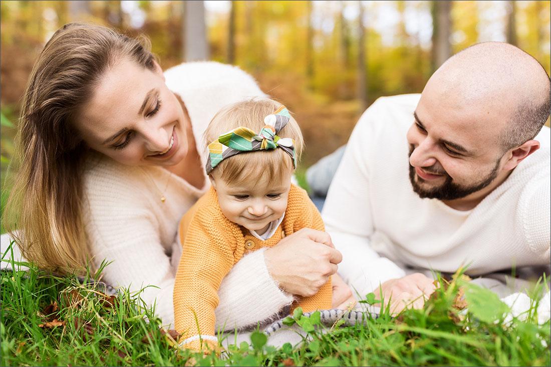 Familienfotograf Rheinfelden - Wald Karsau
