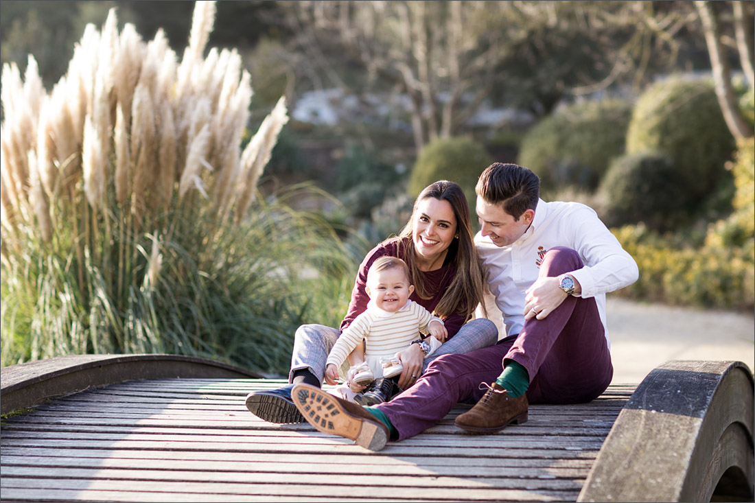 Familien Fotoshooting Basel - Merian Gärten