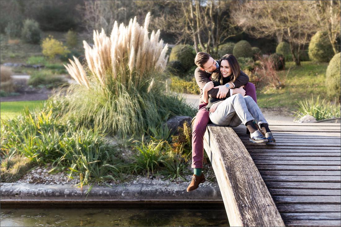 Paar Fotoshooting Basel - Merian Gärten