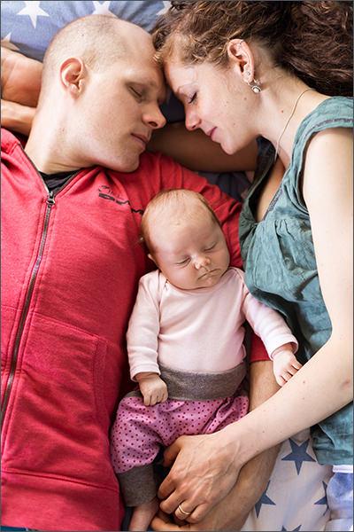 Lifestyle Neugeborenen Fotos
